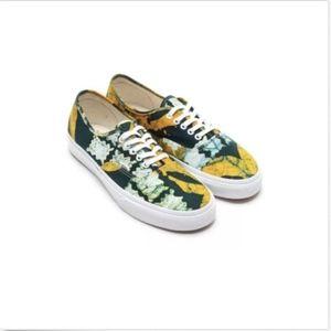 682dc1e670 Vans Shoes - Vans Authentic Della Batik Yellow Casual Shoes🌹